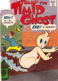 Large Thumbnail For Timmy the Timid Ghost #37