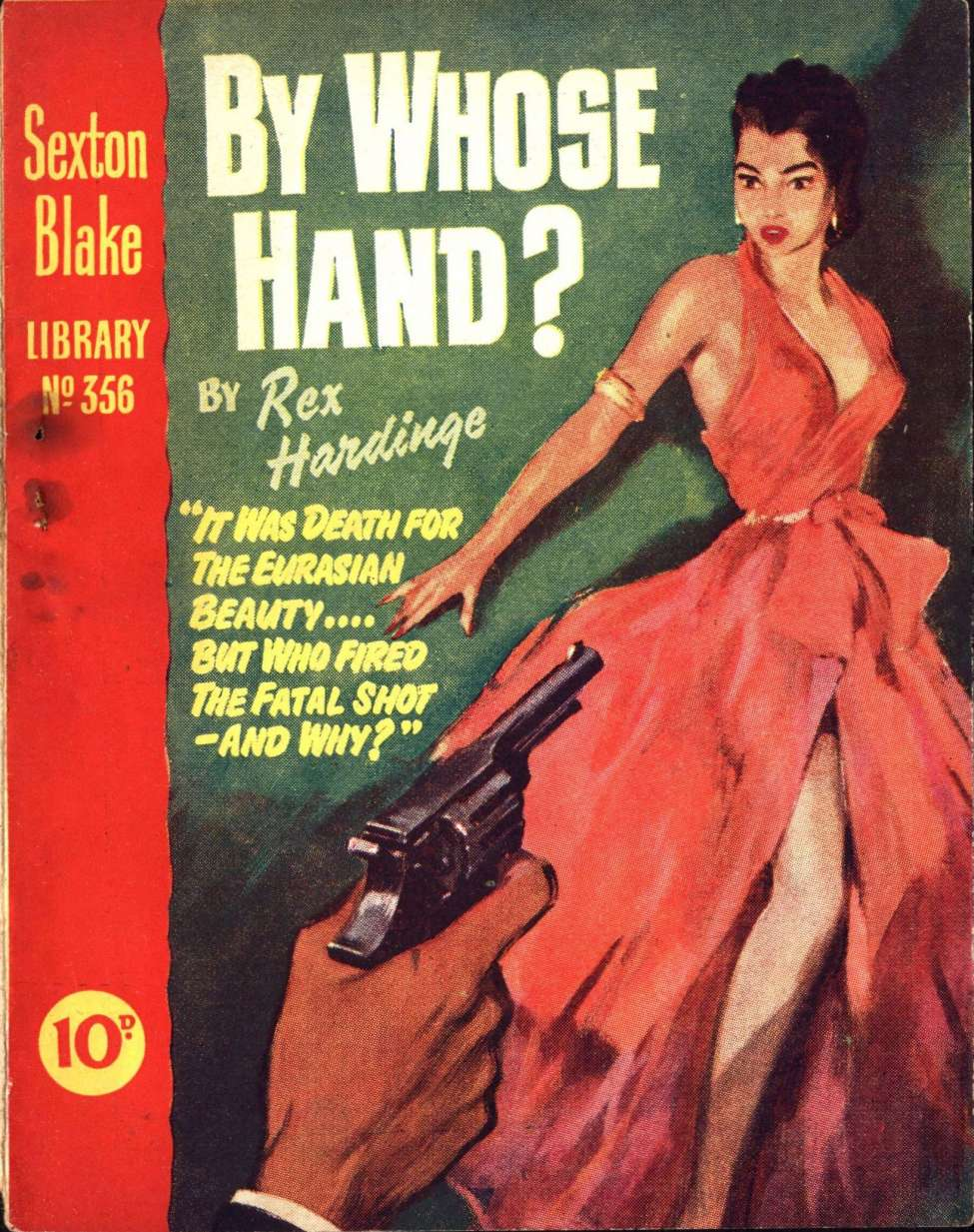 Comic Book Cover For Sexton Blake Library S3 356 - By Whose Hand?