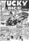 Cover For Lucky Dice Comic