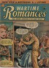 Cover For Wartime Romances 10