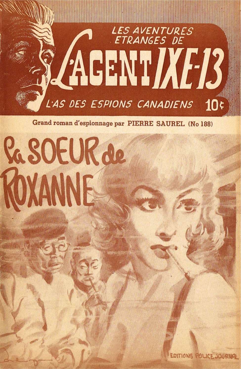 Comic Book Cover For L'Agent IXE-13 v2 188 - La soeur de Roxanne