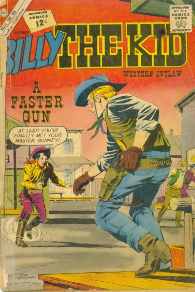 Comic Book Cover For Billy the Kid #36