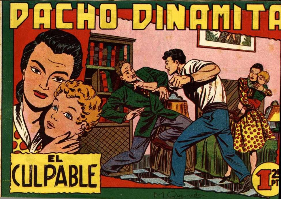 Comic Book Cover For Pacho Dinamita 05 El Culpable