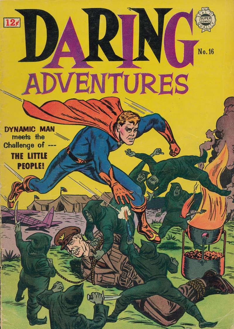 Comic Book Cover For Daring Adventures #16
