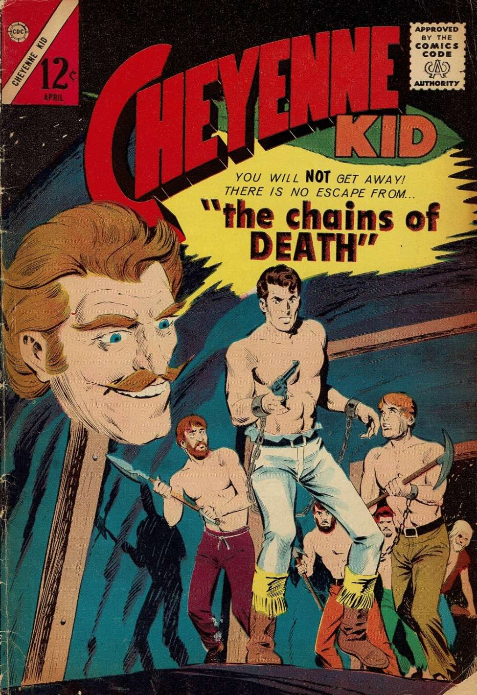 Comic Book Cover For Cheyenne Kid #45