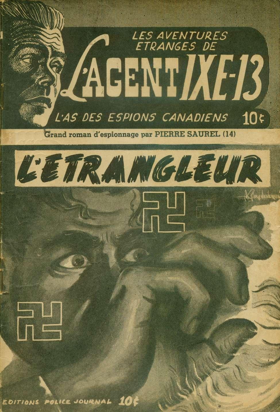 Comic Book Cover For L'Agent IXE-13 v2 014 - L'étrangleur