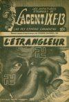 Cover For L'Agent IXE 13 v2 14 L'étrangleur