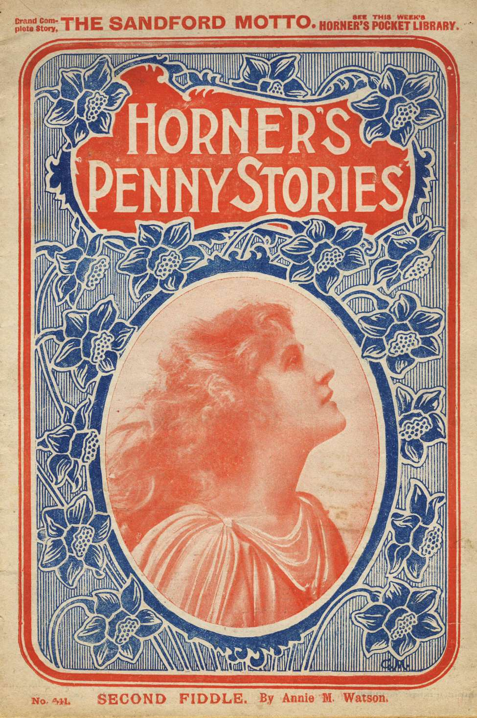Comic Book Cover For Horner's Penny Stories 441 - Second Fiddle