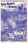Cover For The Magnet 1645 Six Boys in a Boat!