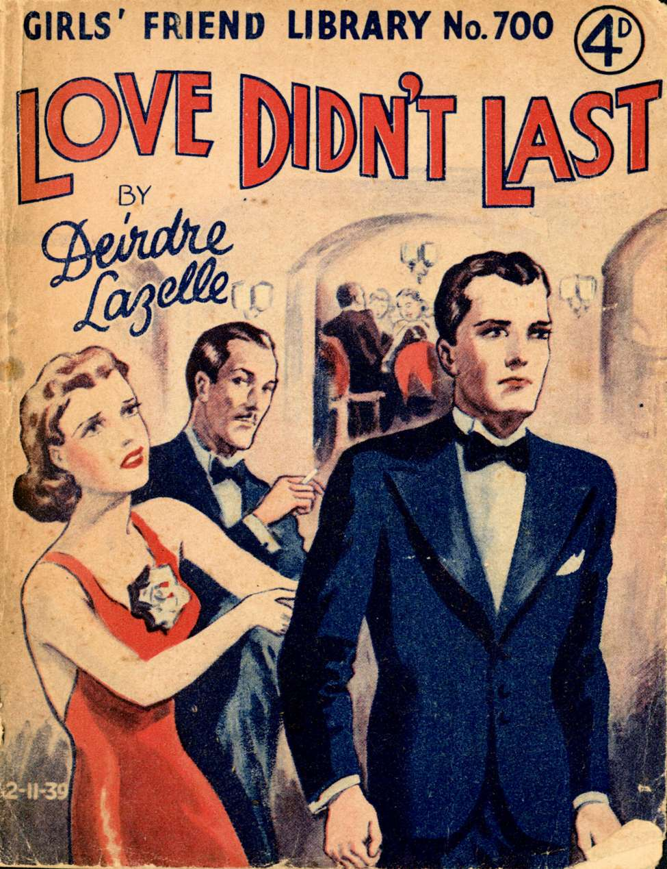 Comic Book Cover For Girls' Friend Library 700 - Love Didn't Last