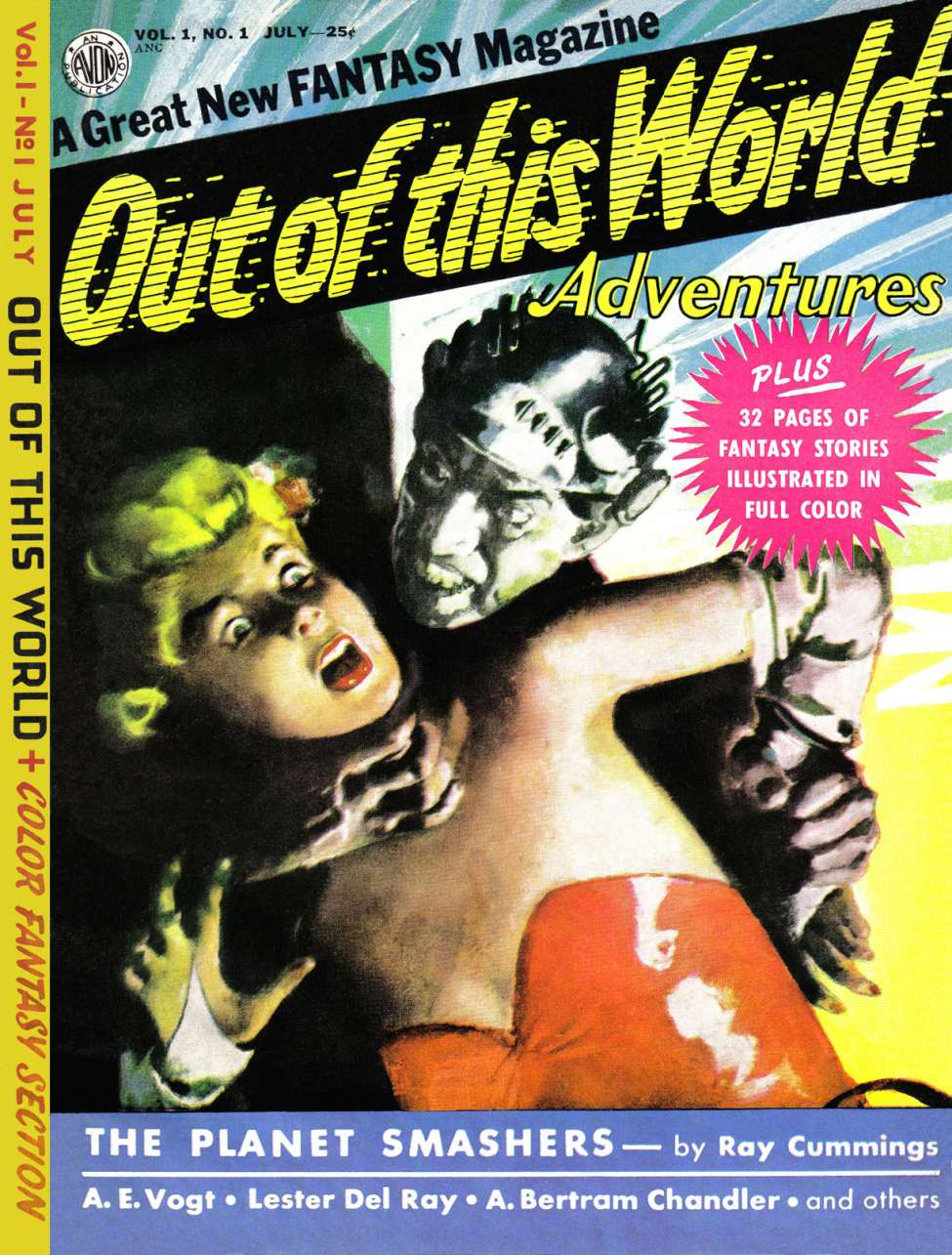 Comic Book Cover For Out of This World Adventures #1 - Version 1