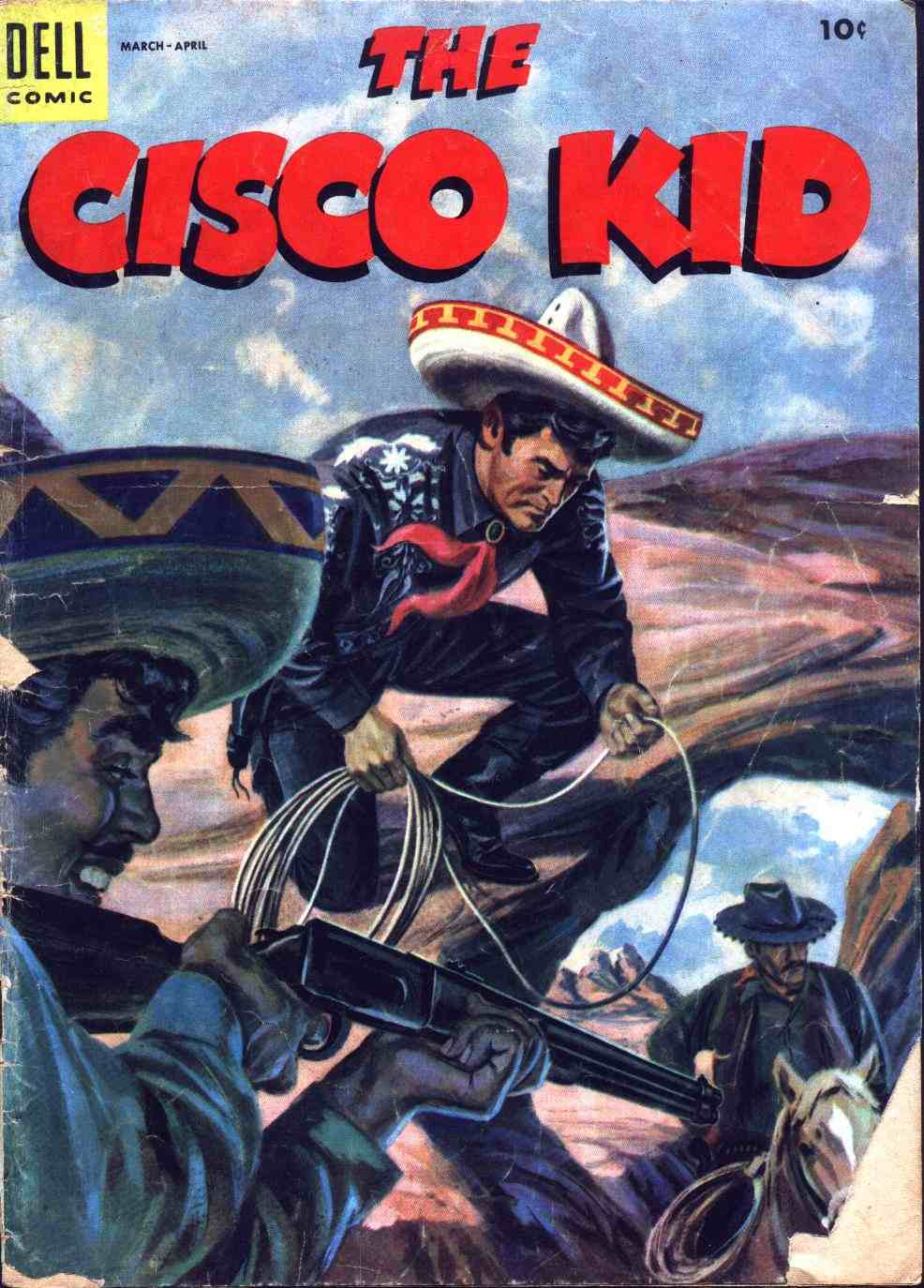 Comic Book Cover For The Cisco Kid 26