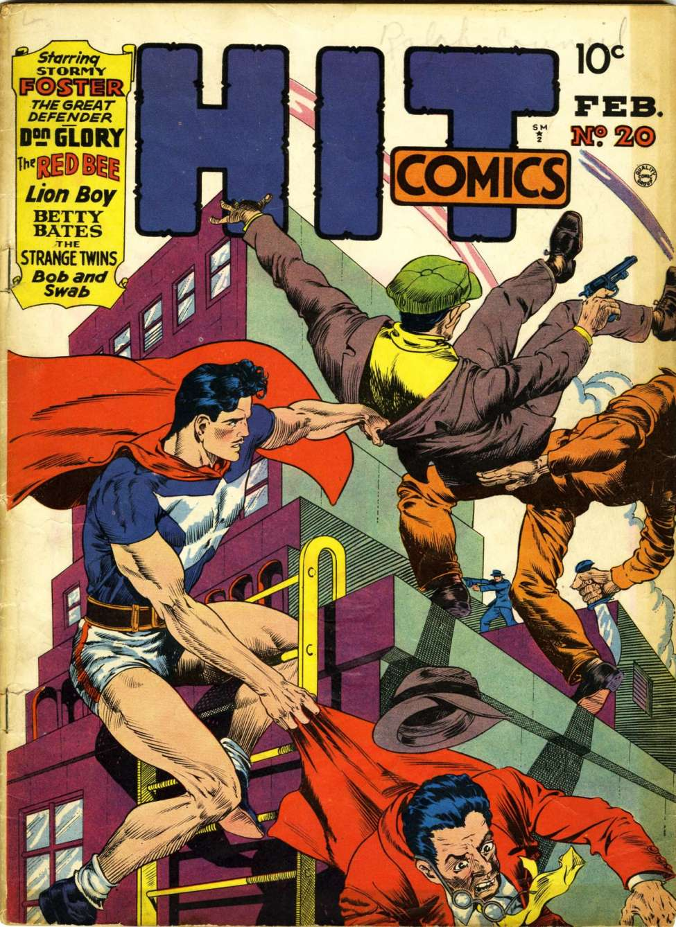 Comic Book Cover For Hit Comics #20