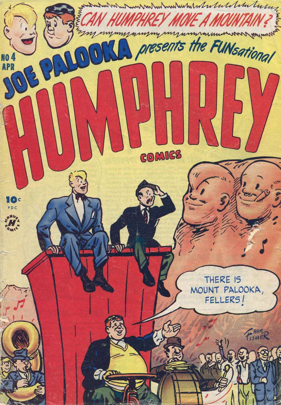 Comic Book Cover For Humphrey Comics #4
