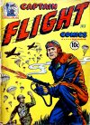 Cover For Captain Flight Comics 3