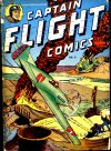 Cover For Captain Flight Comics 6
