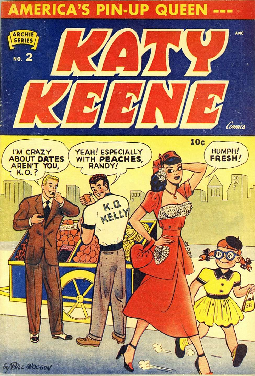 strip comic Katy keene