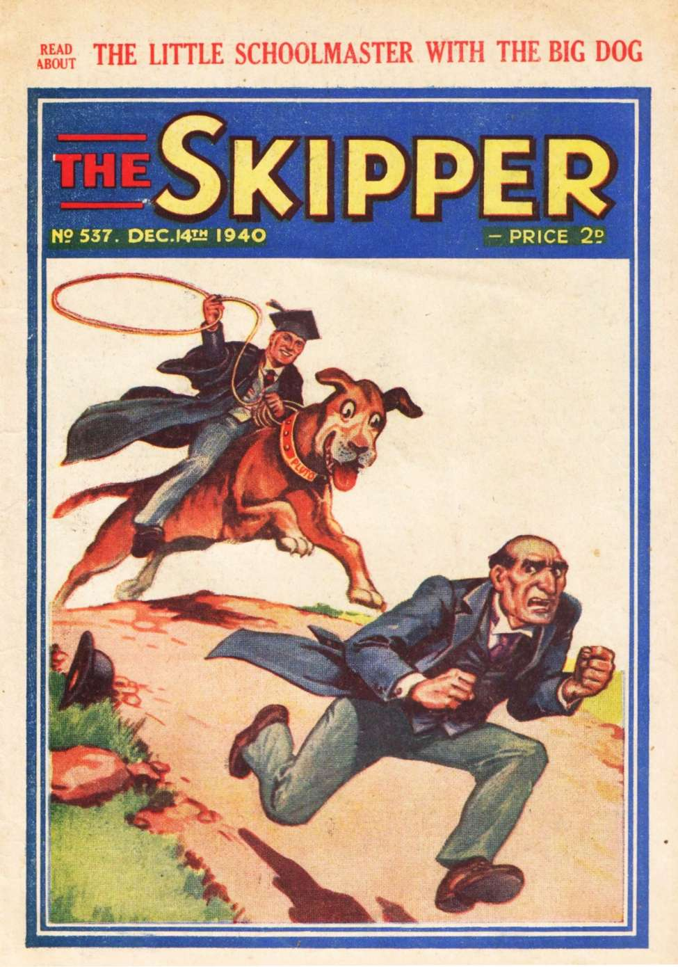 Comic Book Cover For The Skipper 537
