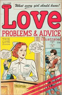 Large Thumbnail For Love Problems and Advice, Illustrated #1
