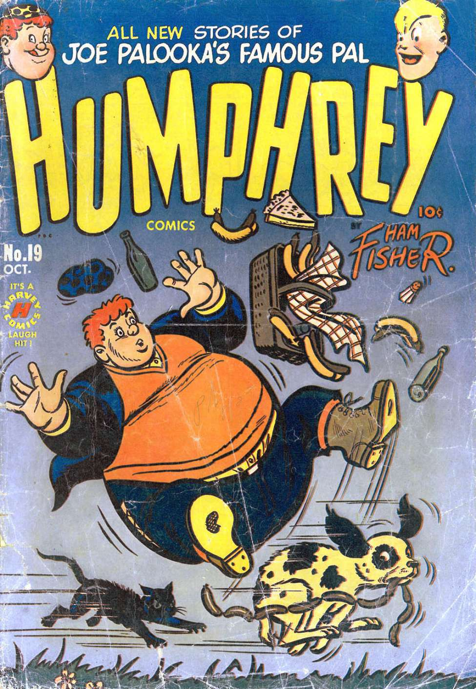 Comic Book Cover For Humphrey Comics #19