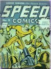 Cover For Speed Comics 9