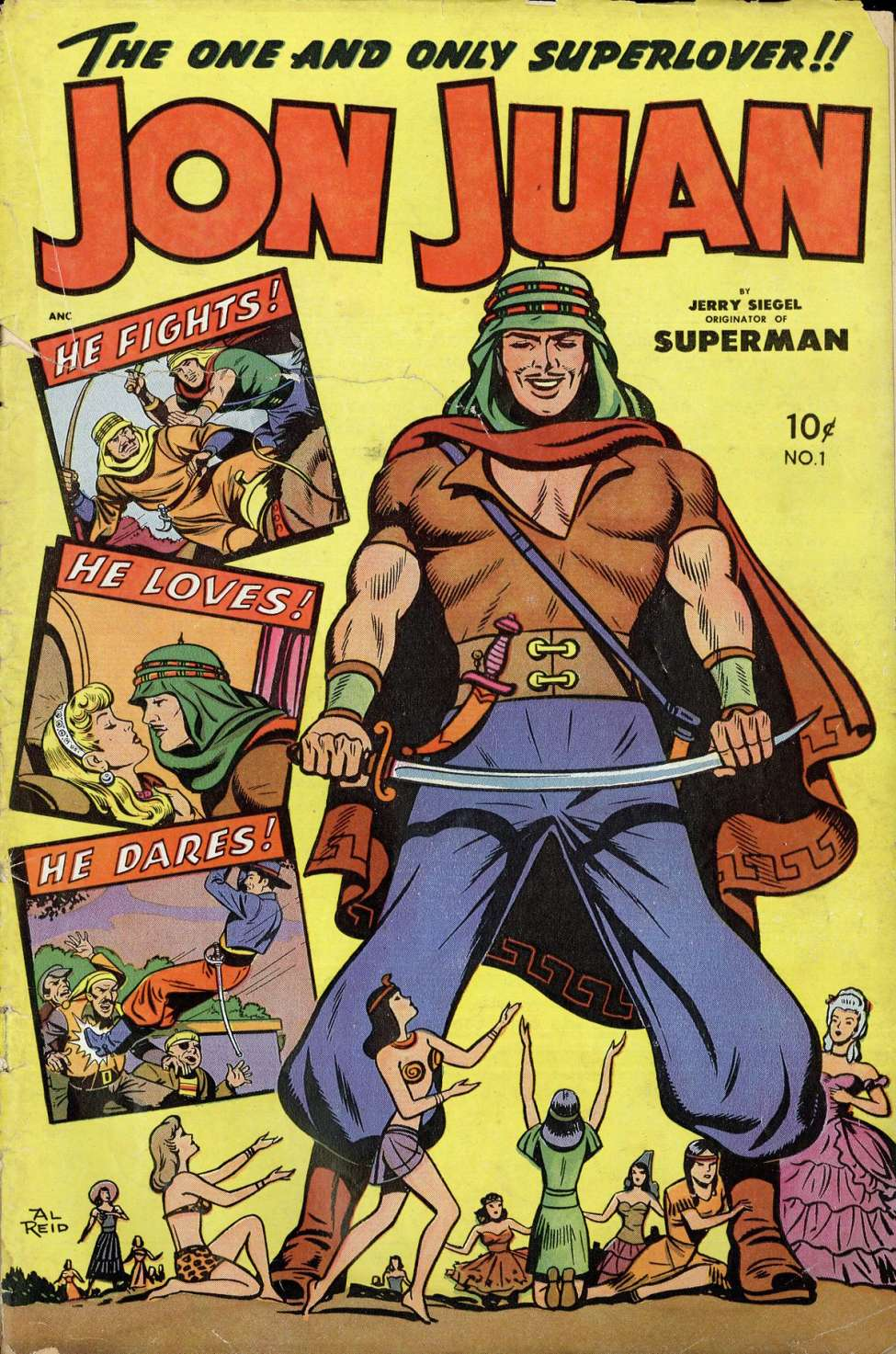 Comic Book Cover For Jon Juan #1