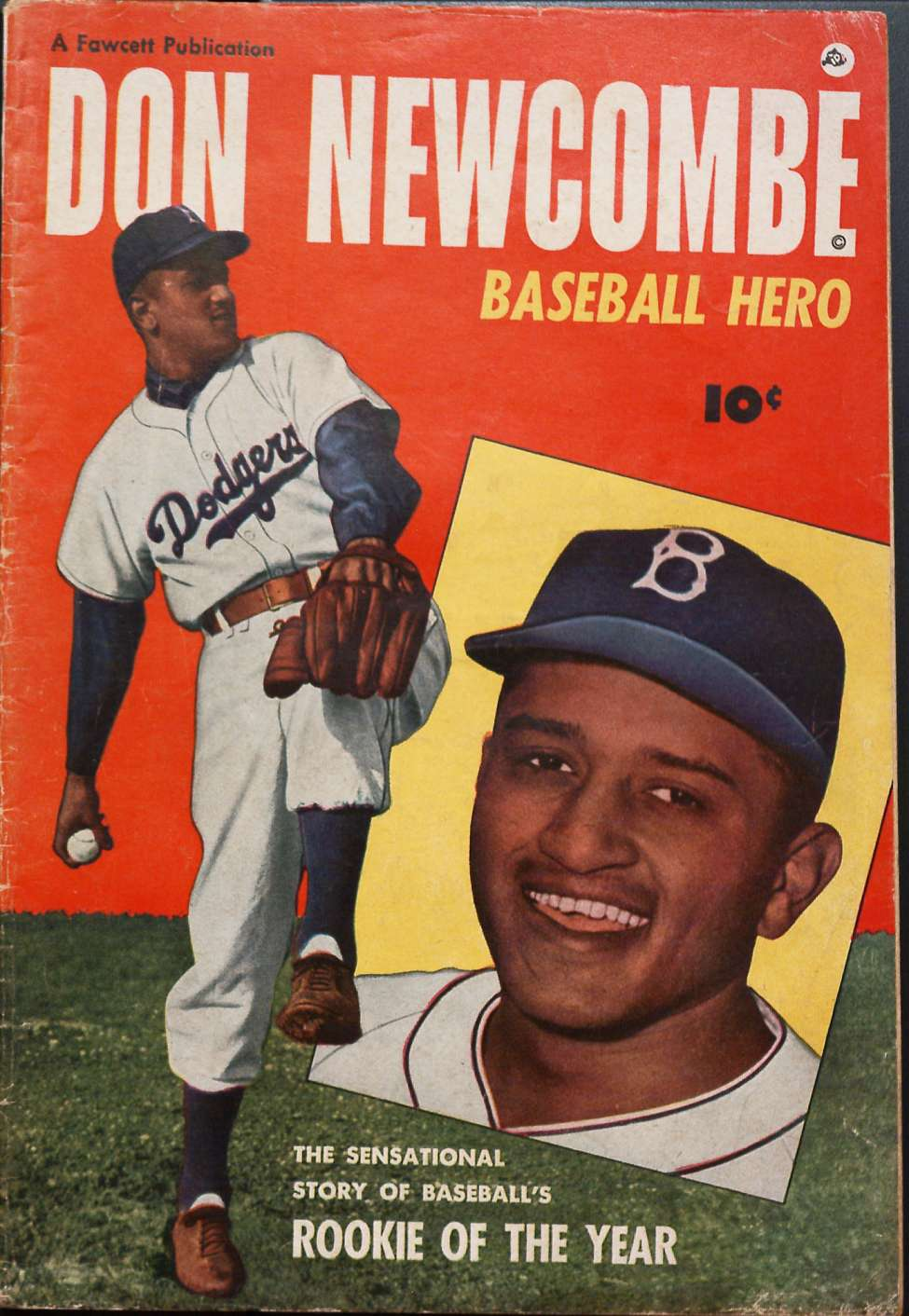 Comic Book Cover For Don Newcombe - Version 2
