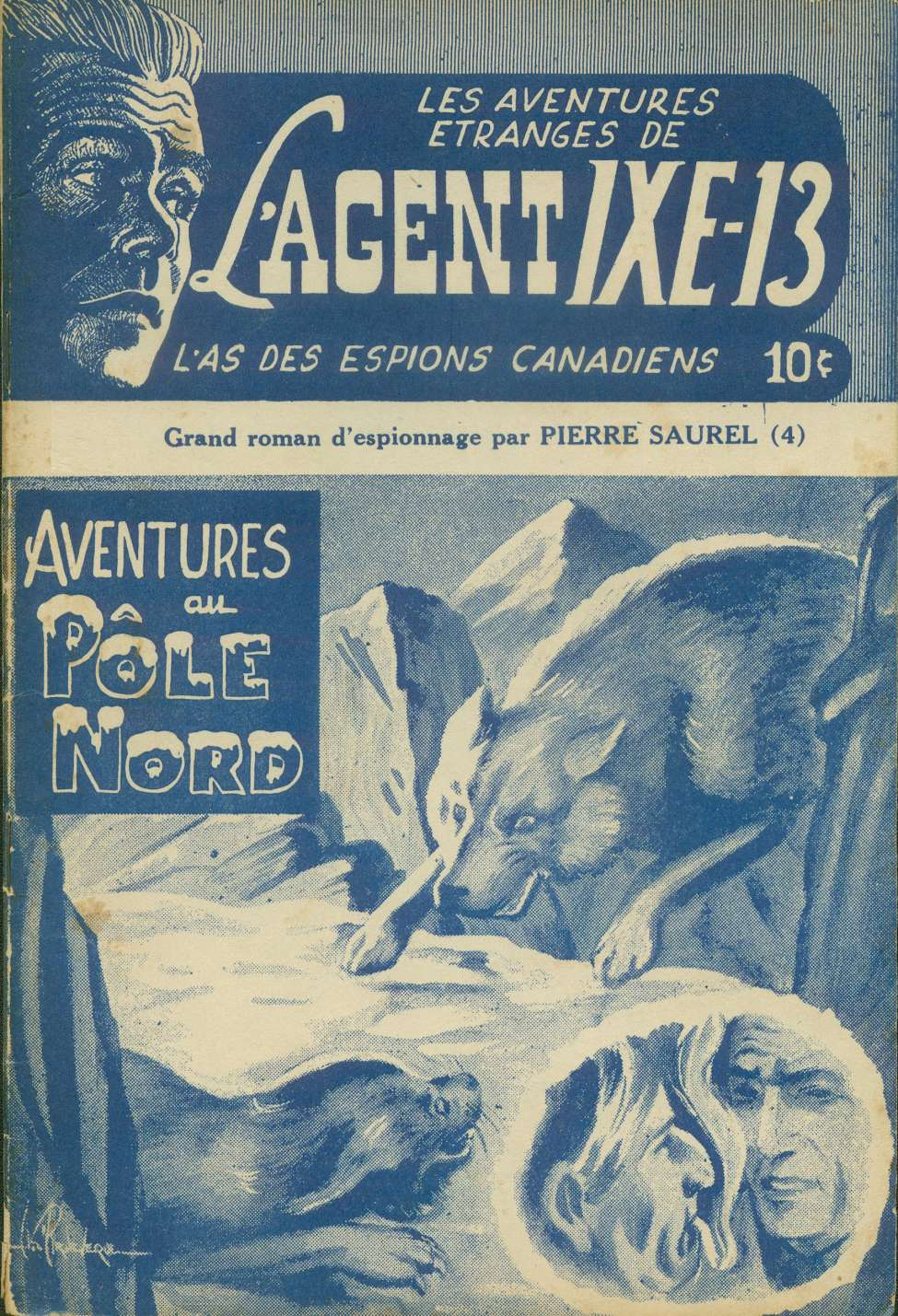 Comic Book Cover For L'Agent IXE-13 v2 004 – Aventures au pôle nord