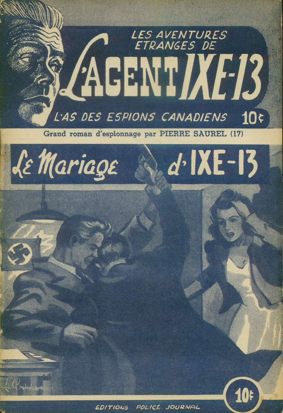 Comic Book Cover For L'Agent IXE-13 v2 017 - Le mariage d'IXE-13
