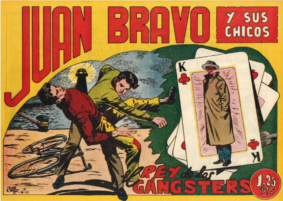 Comic Book Cover For Juan Bravo 08