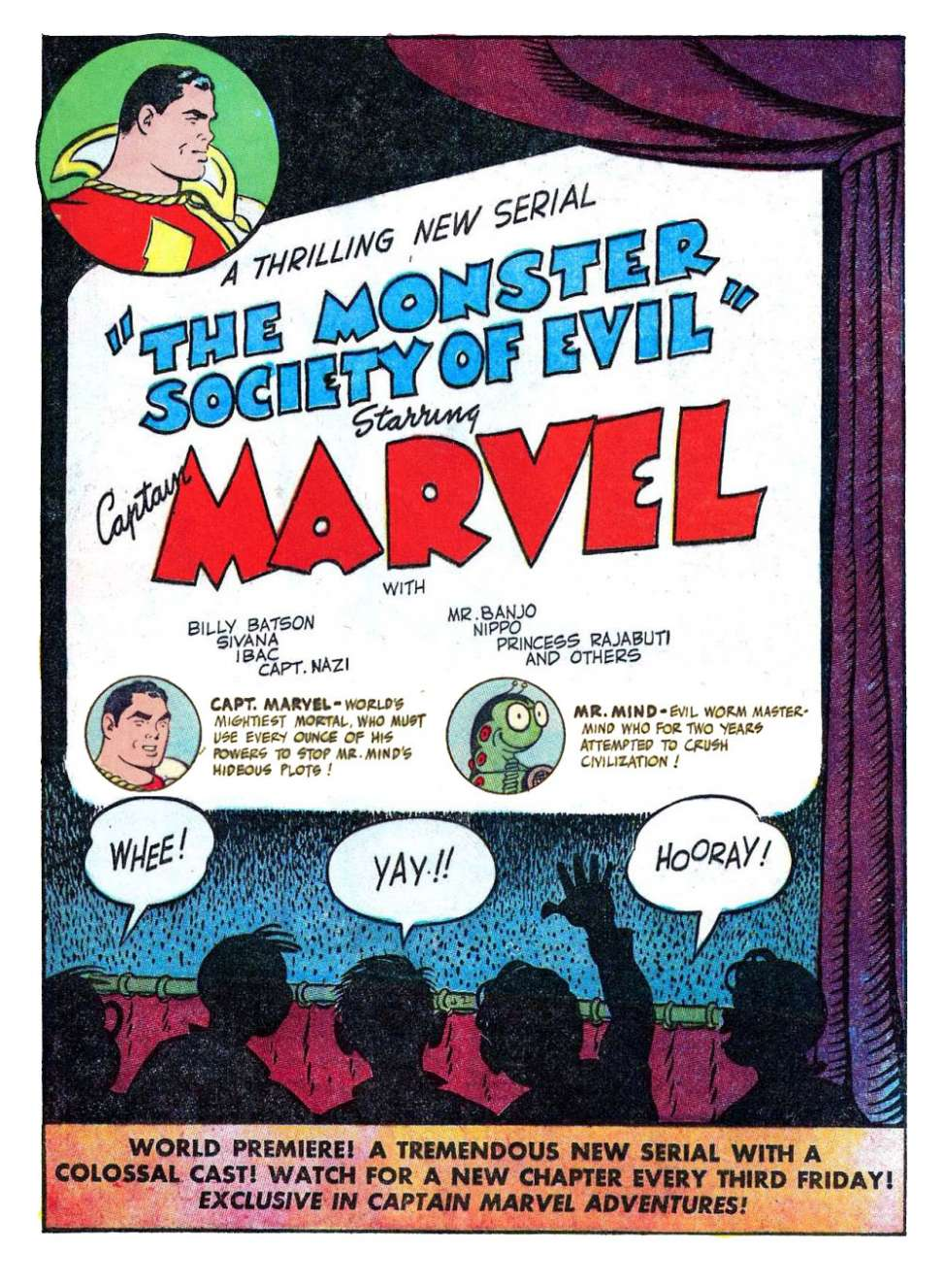 Comic Book Cover For Monster Society of Evil Part 1