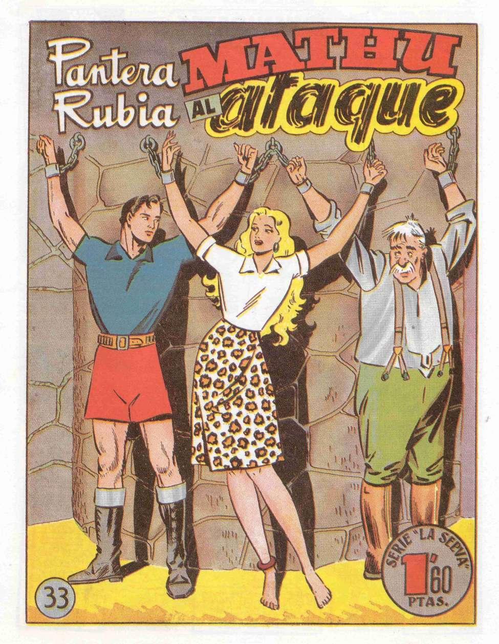 Comic Book Cover For Serie La Selva 33 Pantera Rubia 24