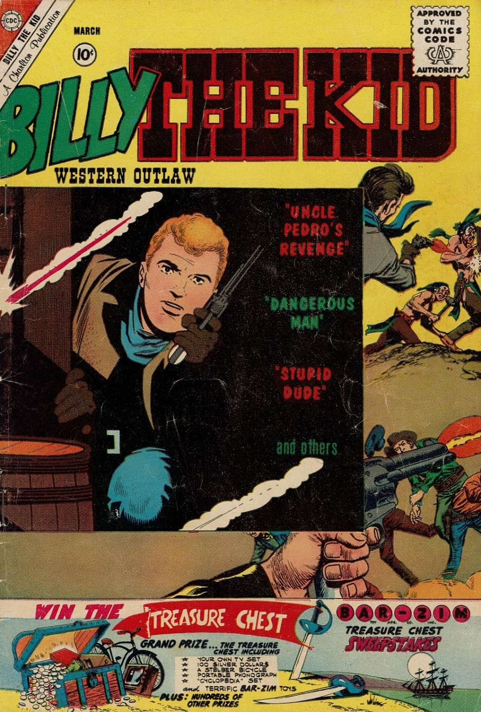 Comic Book Cover For Billy the Kid #27