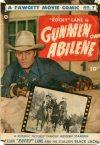 Cover For Fawcett Movie Comic 7 Gunmen of Abilene