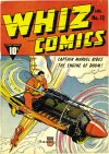 Cover For Whiz Comics 12 (paper/18fiche)