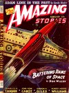 Cover For Amazing Stories v15 2 Battering Rams of Space Don Wilcox