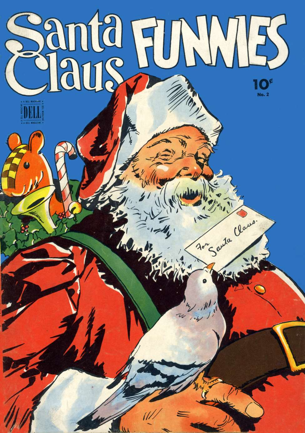 Comic Book Cover For Santa Claus Funnies #2 - Version 2