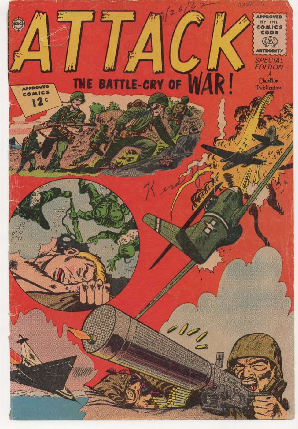 Comic Book Cover For Attack [1]