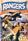 Cover For Rangers Comics 12