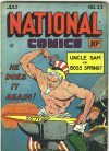 Cover For National Comics 33