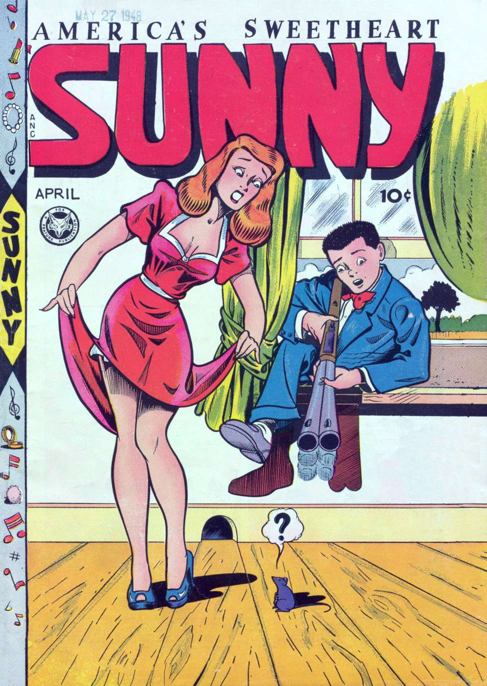 Comic Book Cover For Sunny [Sunny, America's Sweetheart] #13