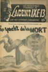 Cover For L'Agent IXE 13 v2 40 Le yacht de la mort