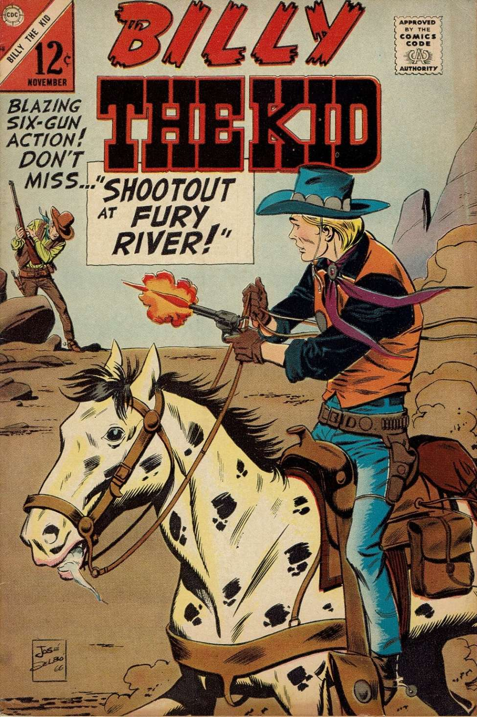 Comic Book Cover For Billy the Kid #58