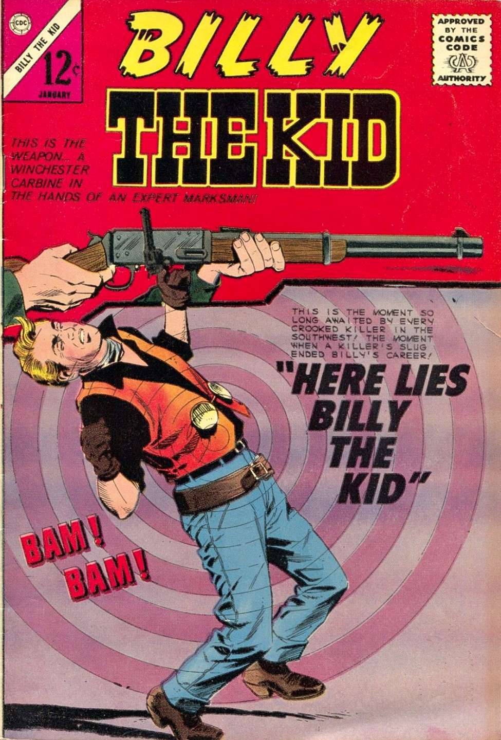 Comic Book Cover For Billy the Kid #48