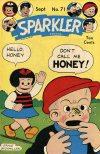 Cover For Sparkler Comics 71