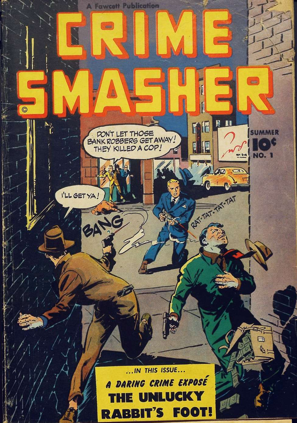 Comic Book Cover For Crime Smasher #1