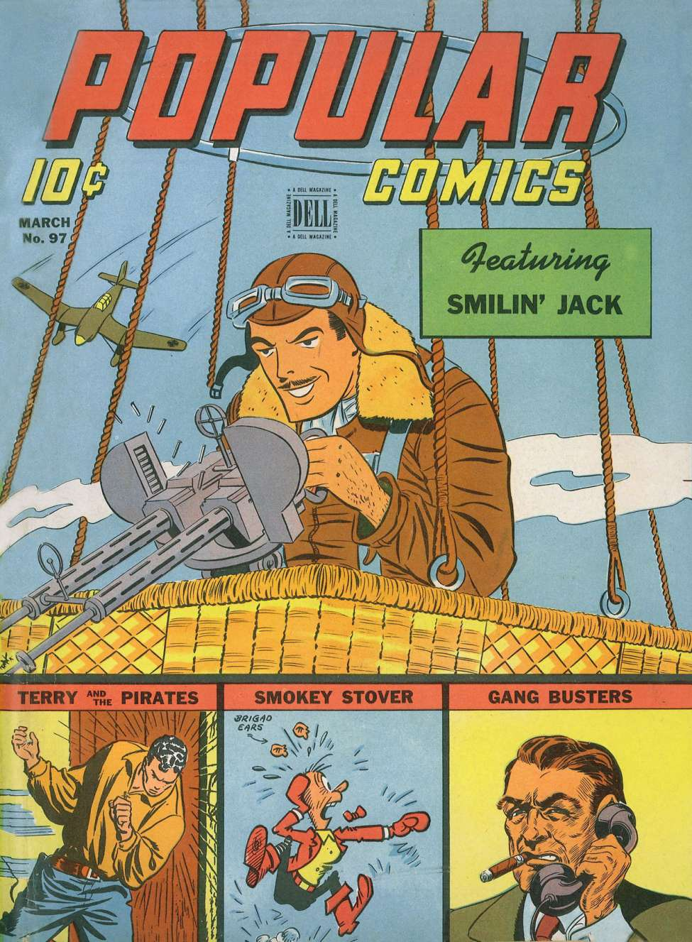 Comic Book Cover For Popular Comics #97