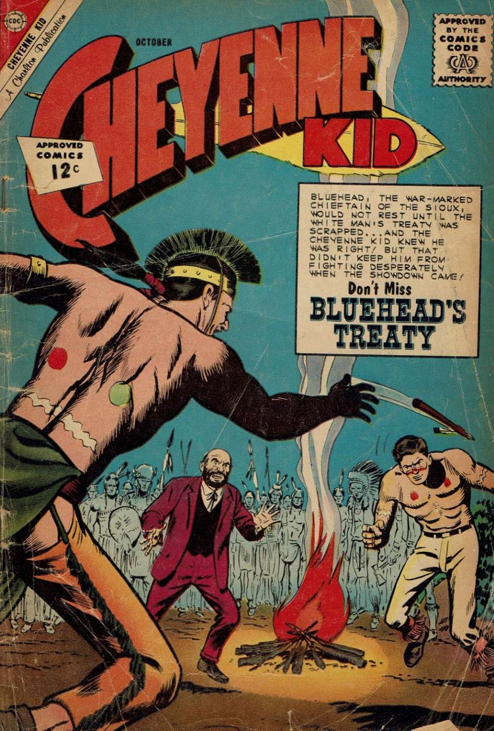 Comic Book Cover For Cheyenne Kid #36