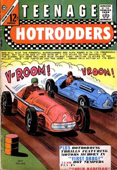 Comic Book Cover For Teenage Hotrodders #11