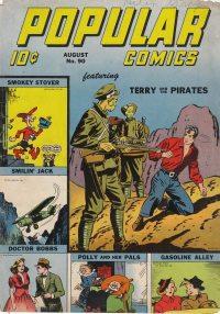 Large Thumbnail For Popular Comics #90